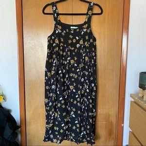 Urban Outfitters Kimchi Blue Babydoll Midi Dress